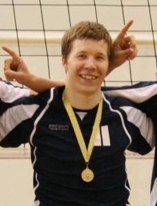 võrkpall Saare maakonna 2010. ja 2011. aasta võistkonna liige