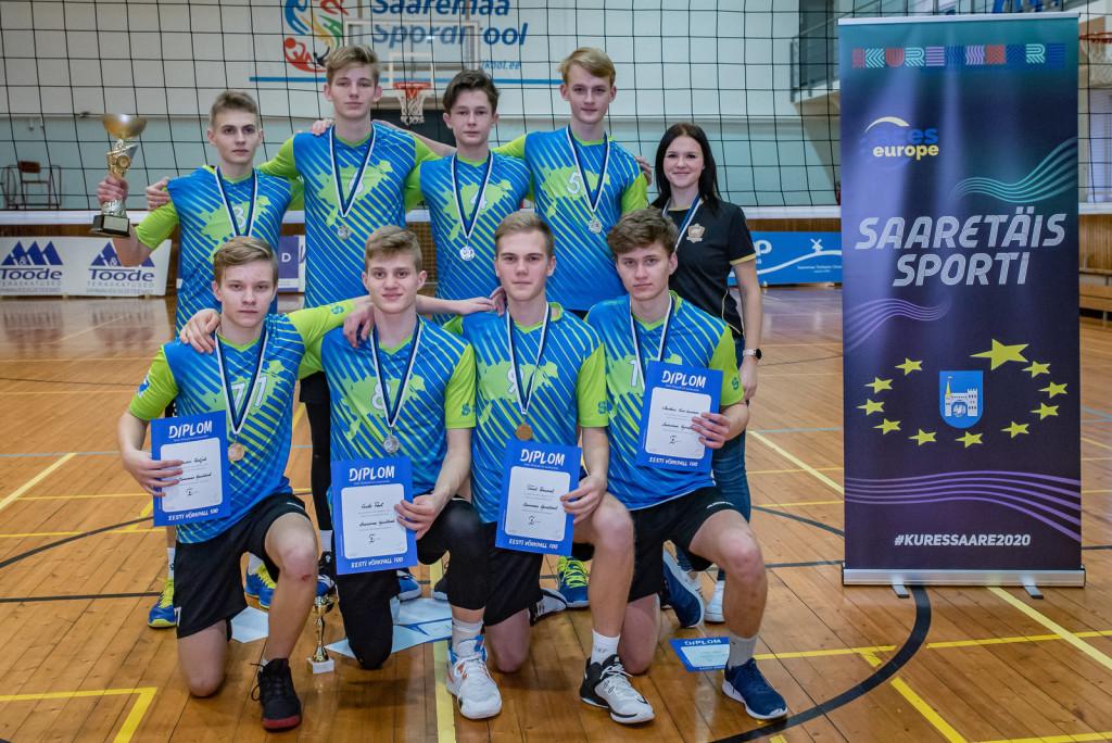 Saaremaa Spordikool EVF karikavõistlused 2.koht