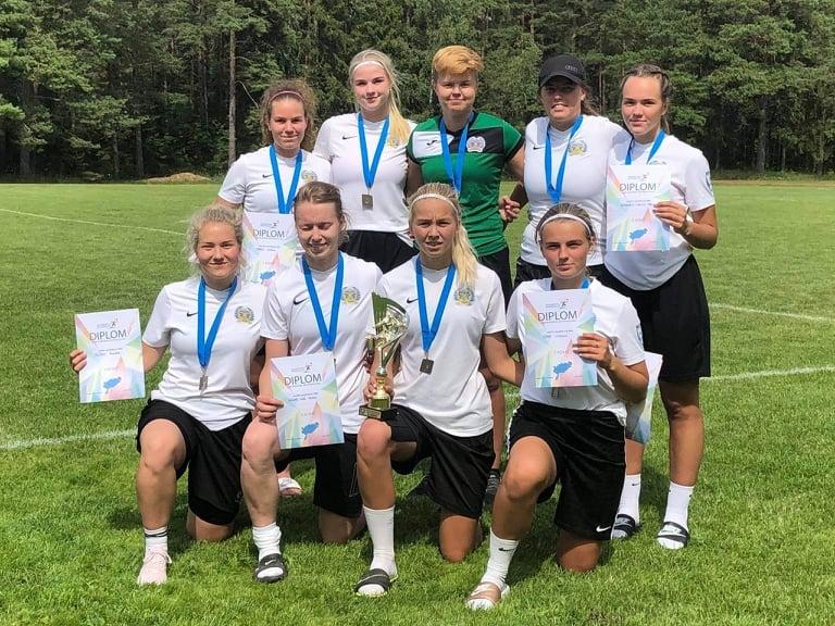 Saare mk MV naiste jalgpall FC Kuressaare naised