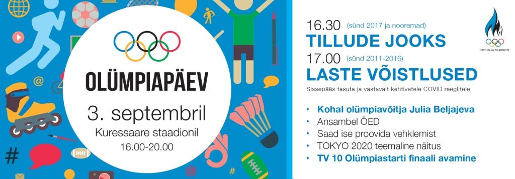 Olümpiapäev Kuressaares @ Kuressaare Linnastaadion